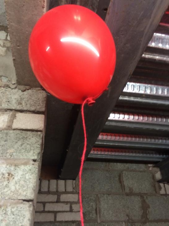 One of many, many, many balloons...